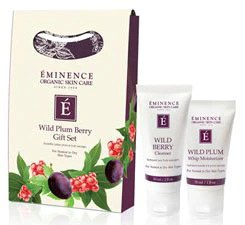 wild plum1 Eminence Organics Holiday Collection