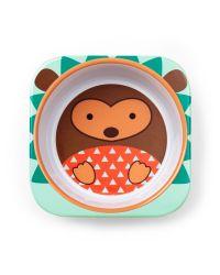 Zoo Melamine plate & bowl set   Skiphop.com