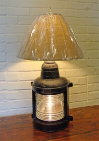 Nautical Table Lamps: Skipjack Nautical Wares