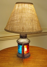 Nautical Lamp Shades. Affordable Standing Lamp Collage ...