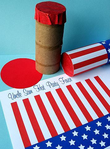 Uncle Sam Party Favors