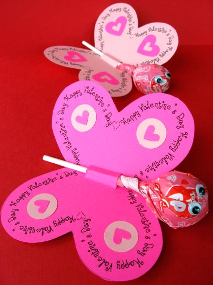 Printable Butterfly Valentine Skip To My Lou