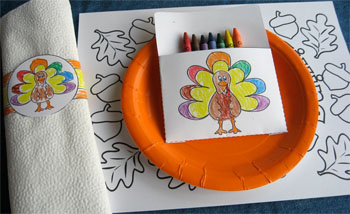 Thanksgiving Crafts For The Kids39 Table Alpha Mom