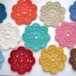 Crochet Flower doily
