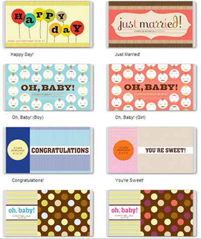 Free Printable Custom Candy Bar Covers