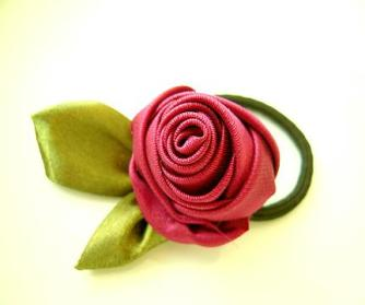 Vintage Fabric Rose Tutorial