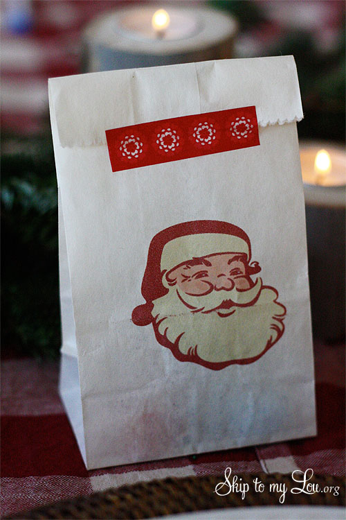 Free Vintage Santa Face Image Skip To My Lou