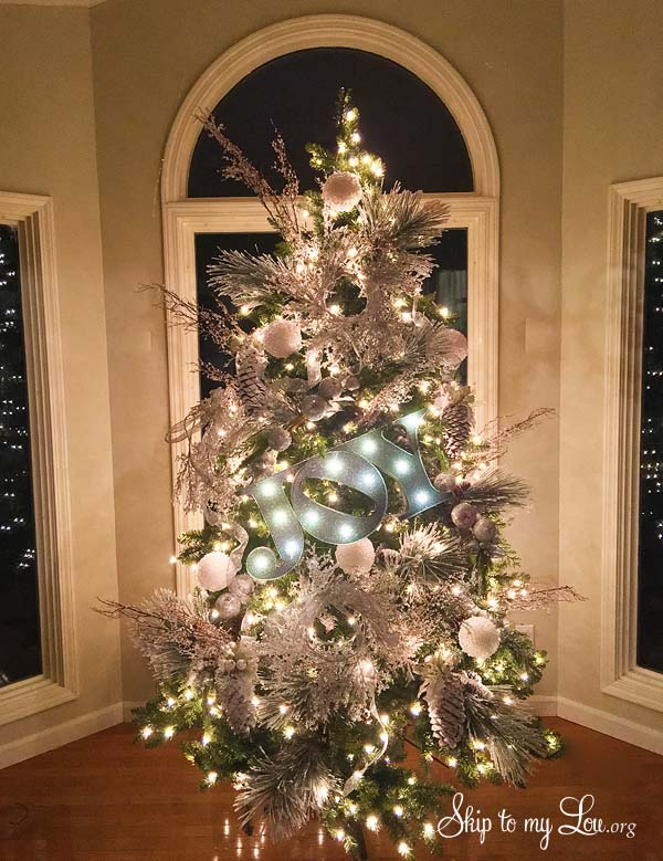Beautiful Christmas Trees Skip To My Lou - beautiful decorated christmas trees