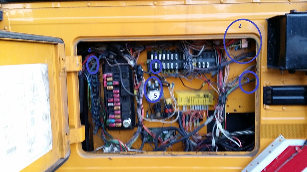 I really need some help with the wiring here!!! - School Bus