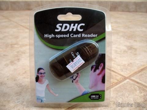 Embalagem do Leitor de cartões USB 2.0 SDHC (SDHC USB 2.0 Card Reader)