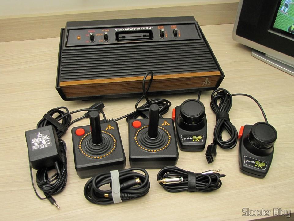 O Atari VCS2600 com os mods Atari