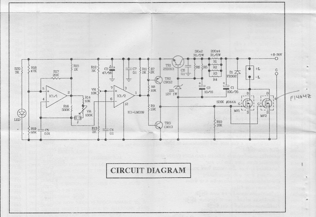 P CONTROLLER CIRCUIT DIAGRAM - Auto Electrical Wiring Diagram