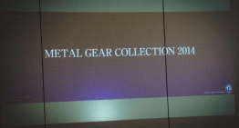 للاسف Metal Gear 2014 collection مش هتكون مجموعة شاملة اجزاء السلسلة