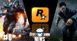الحلقة التامنة من EGN – جزء جديد من Battlefield في الحرب العالمية , حضور Rockstar لمعرض E3 و Alan Wake returns