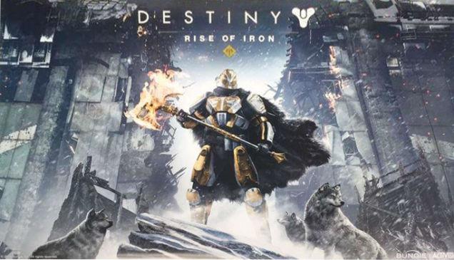تقرير: اضافة Destiny القادمة اسمها Rise of Iron