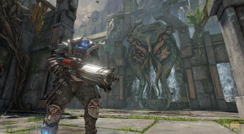 العرض الاول لجيمبلاي لعبة Quake Champions