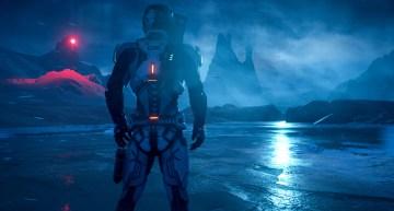 خمس دقايق من استعراض الجيمبلاي بشكل مكثف للعبة Mass Effect: Andromeda
