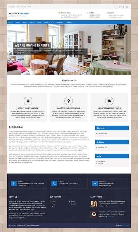 81 Best Responsive Free WordPress Themes with slider download template - best free wordpress templates