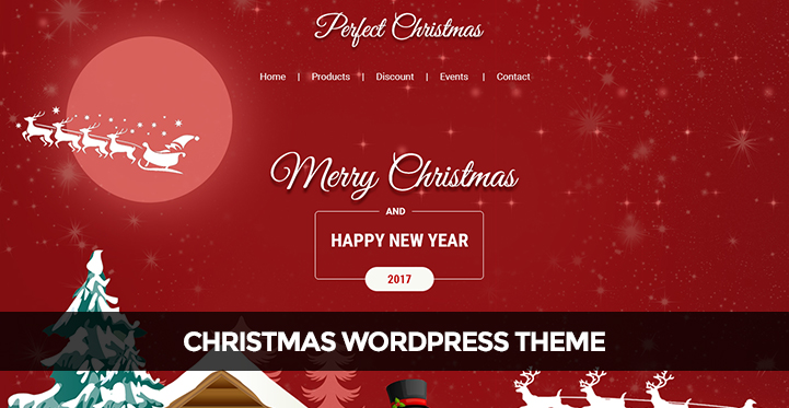 Christmas WordPress Theme for giving festive season offers during - christmas themes images