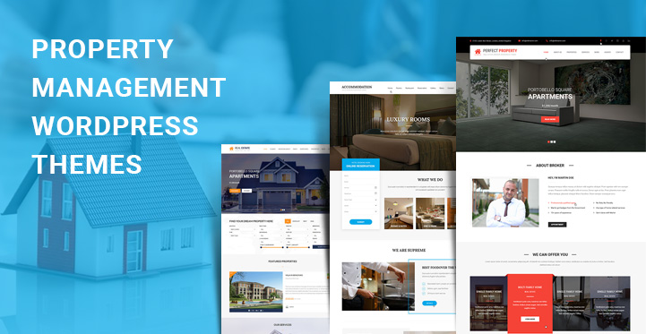 Property Management WordPress Themes for property related websites - property management websites templates