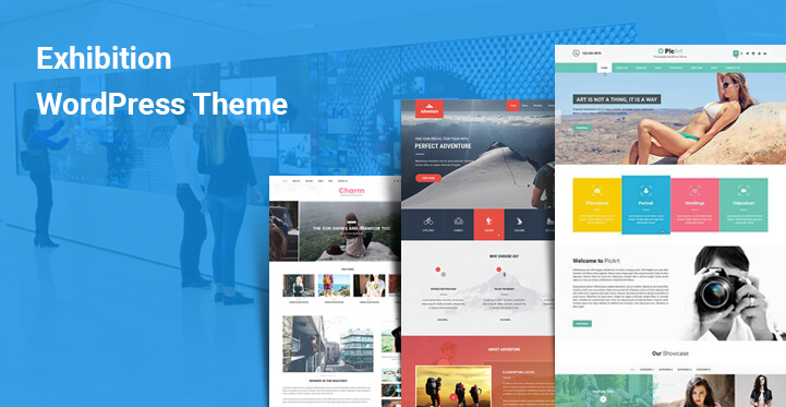 Exhibition WordPress Themes for art culture based events and
