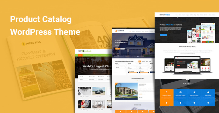 Product Catalog WordPress Themes for eCommerce online stores - SKT