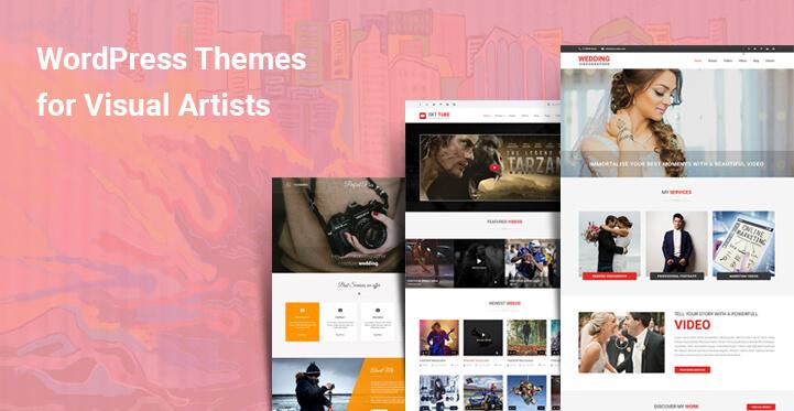 WordPress Themes for Visual Artists online digital creative