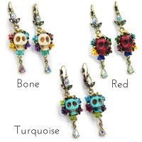 Sugar Skull Earrings Uk - Jewelry FlatHeadlake3on3