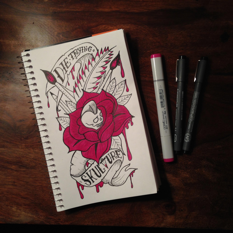 Sketchbook: Die Trying
