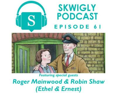 Skwigly Animation Podcast #61 – Roger Mainwood & Robin Shaw