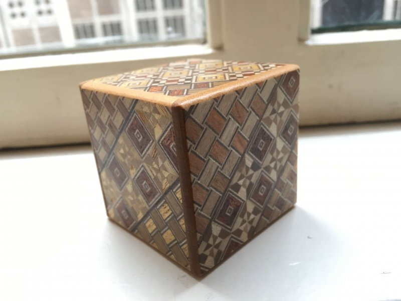 Playing Around At The Office With A Japanese Puzzle Box