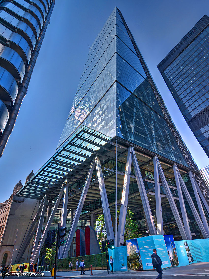 The leadenhall building city of london 225m 48 fl