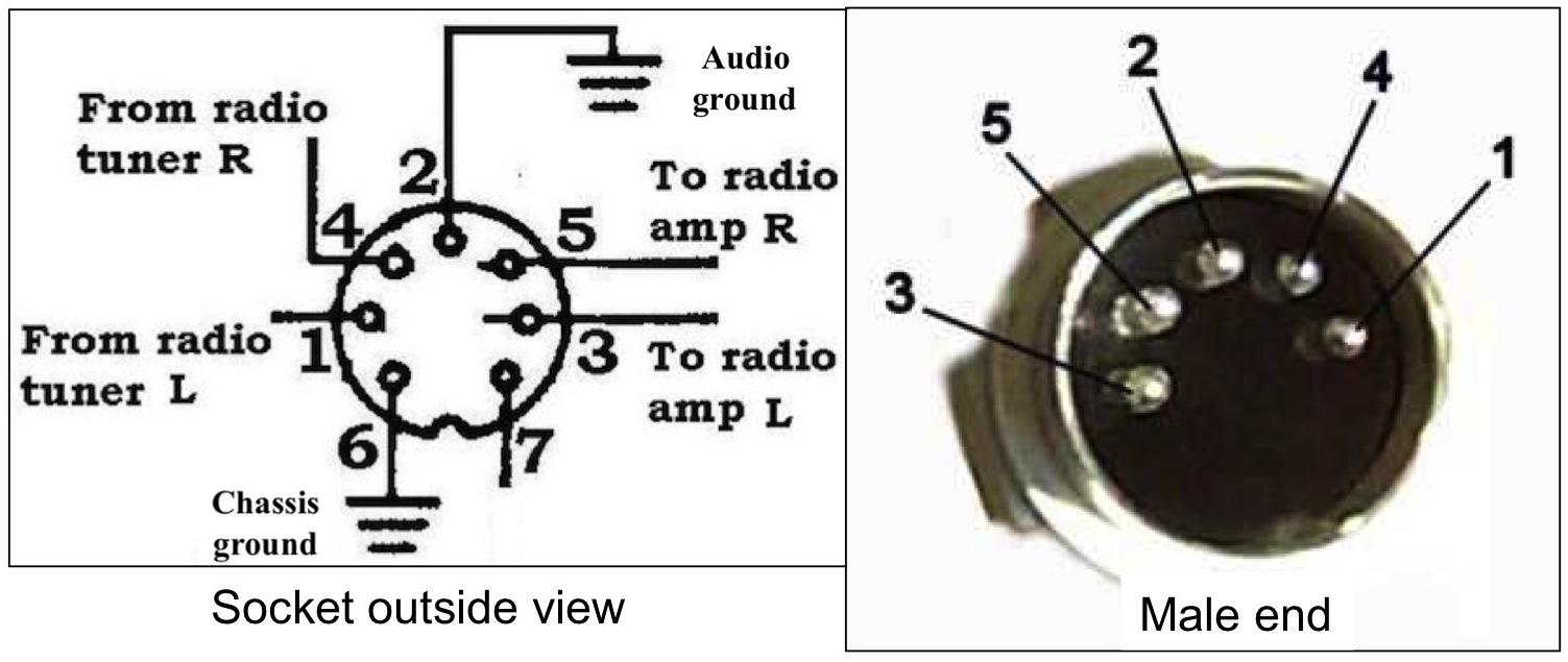 5 pin din wiring diagram