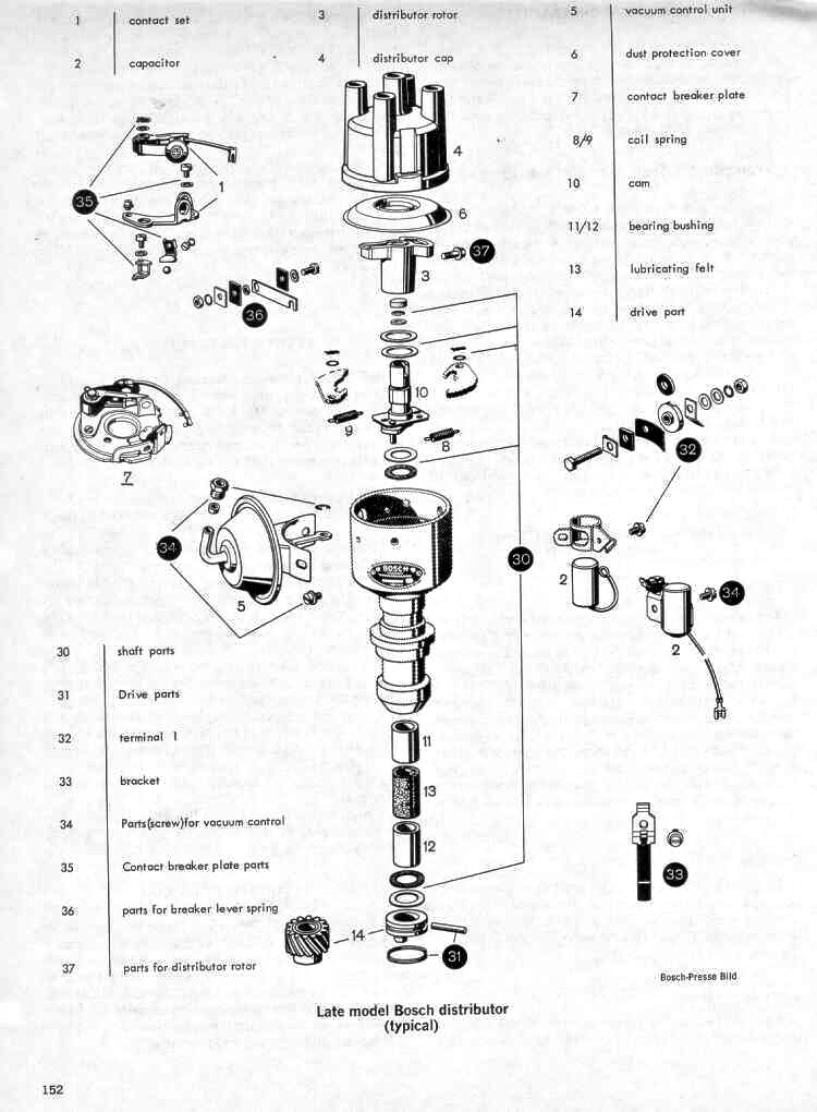 Vw Distributor Diagram
