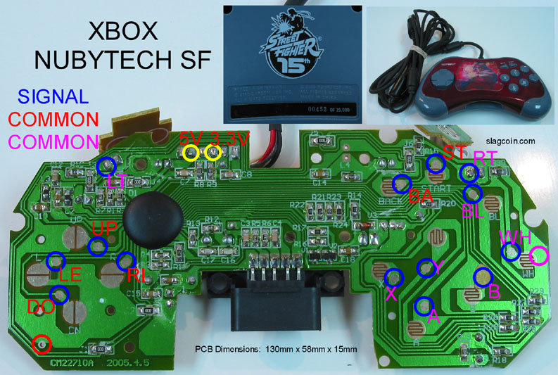 Diagram Xbox wired controller wiring diagrams Diagram Schematic