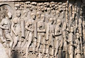 Trajan's Column, depicting one event: The Dacian Wars