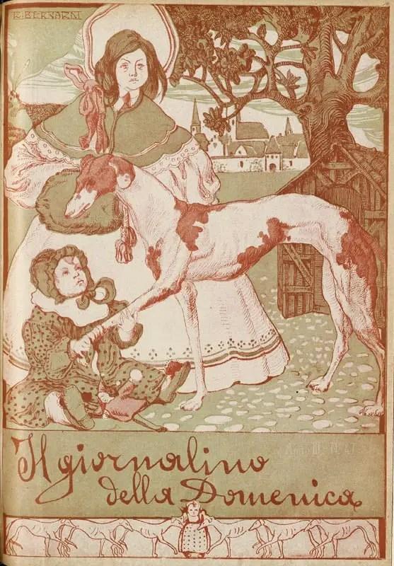 cover by R. Bernardi, 1908
