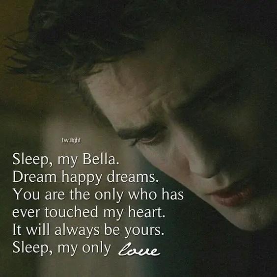 Sleep my bella