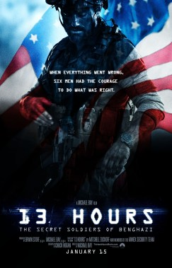 Michael Bay's 13 Hours Posters