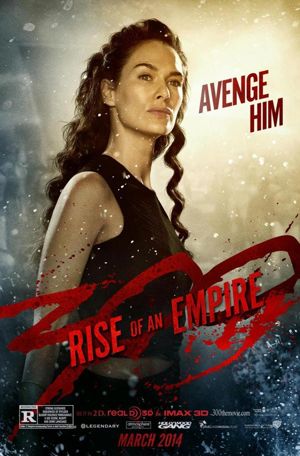 300 Rise of an Empire - Lena Headey as Queen Gorgo