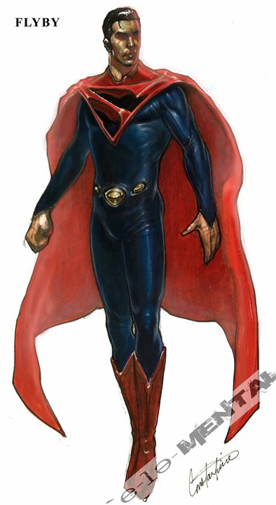 JJ Abrams Superman Concept Art 1