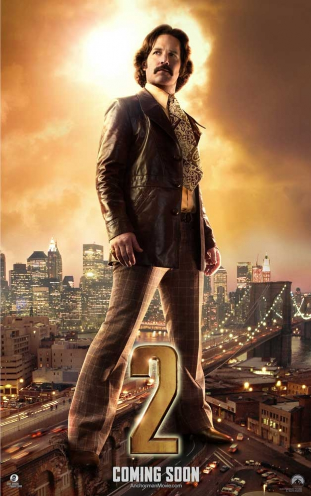 Anchorman 2 - Brian Fantana
