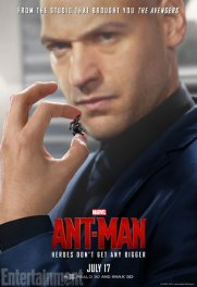 Ant-Man character posters - Corey Stoll as Darren Cross Yellowjacket