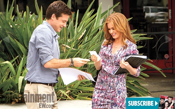 Arrested Development - Michael and Isla Fisher