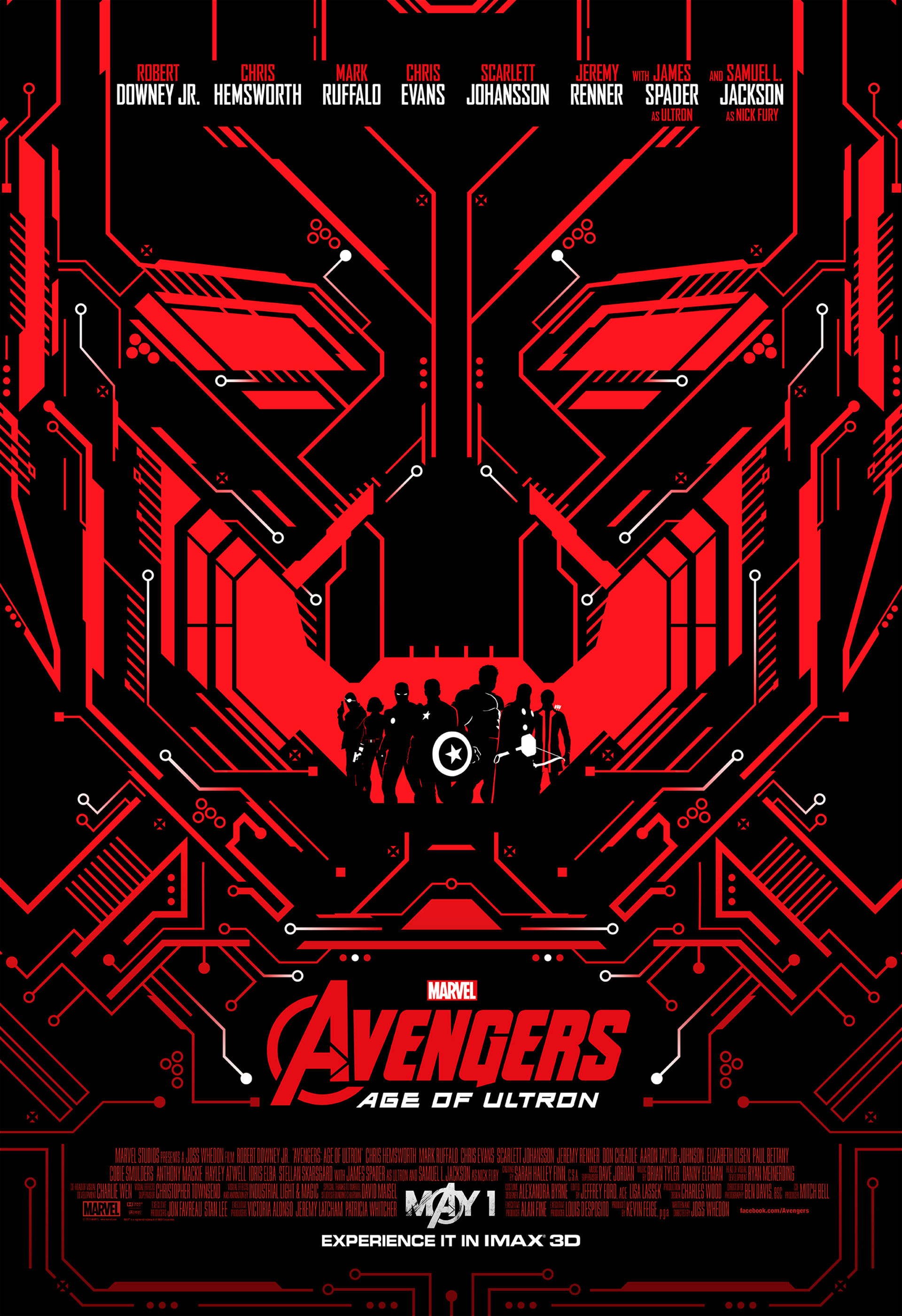 Choose One Of Four Avengers Age of Ultron IMAX Posters