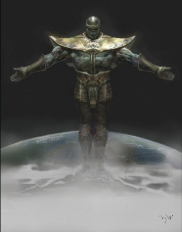 Avengers-Concept-Art-Thanos-Over-Earth