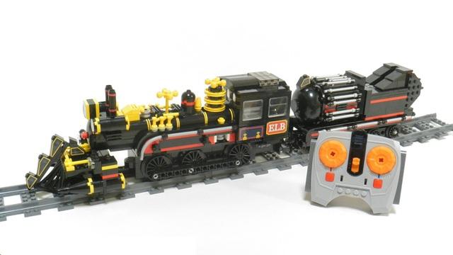 Back to Future Lego Train 4