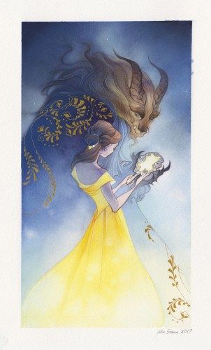 Beauty and the Beast by Alison Strom