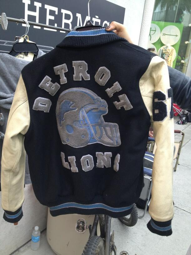 Beverly Hills Cop - Detroit Lions jacket