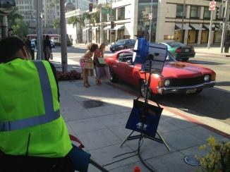Beverly Hills Cop - Rodeo Drive set